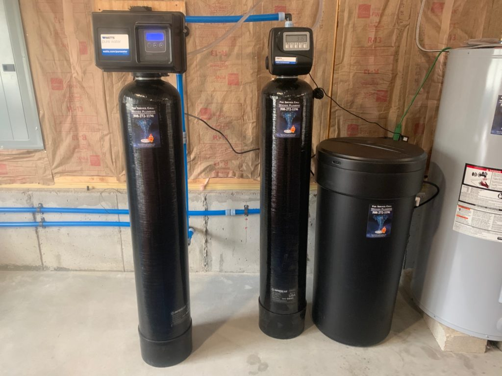 installed water filtration system